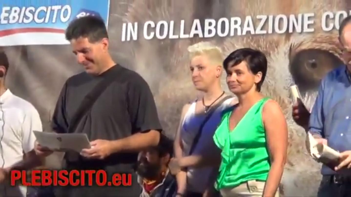 """Pubblichiamo il video congli interventi conclusividell'evento di Este del 12 giugno scorso """"La Repubblica Veneta in Europa, nel mondo: unica soluzione""""."""