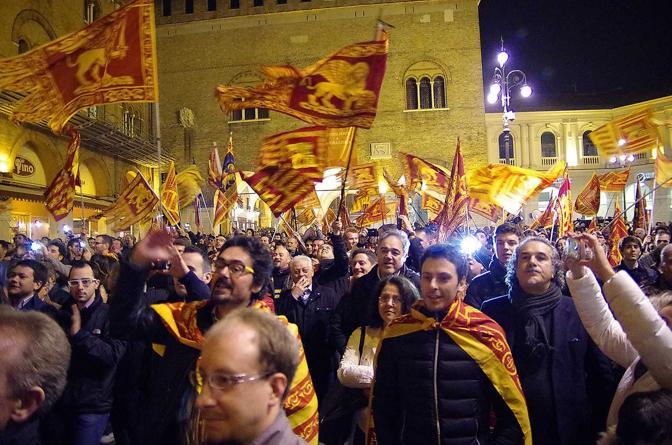 Dal 16 al 21 marzo 2014 abbiamo organizzato il referendum per l'indipendenza del Veneto che ha visto oltre 2,1 milioni di veneti, pari all'89,10% dei votanti, votare Sì all'indipendenza del Veneto. A Roma si fa ovviamente finta di ignorare l'accaduto ma nel frattempo le nostre istanze hanno trovato attenzione nelle cancellerie di tutto il mondo […]
