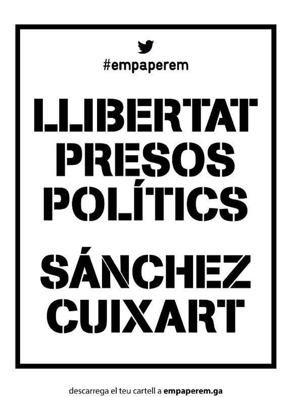 Vergognosa e dittatoriale decisione dello stato spagnolo, che sfida il pacifico popolo catalano, illudendosi di poter imprigionare le idee Ieri in Europa, anno 2017, abbiamo assistito al macabro ritorno d'attualità della prigionia politica che condanna la pacifica espressione di idee. Purtroppo è ciò che è avvenuto in Spagna, con l'incarcerazione dei due leader delle due […]