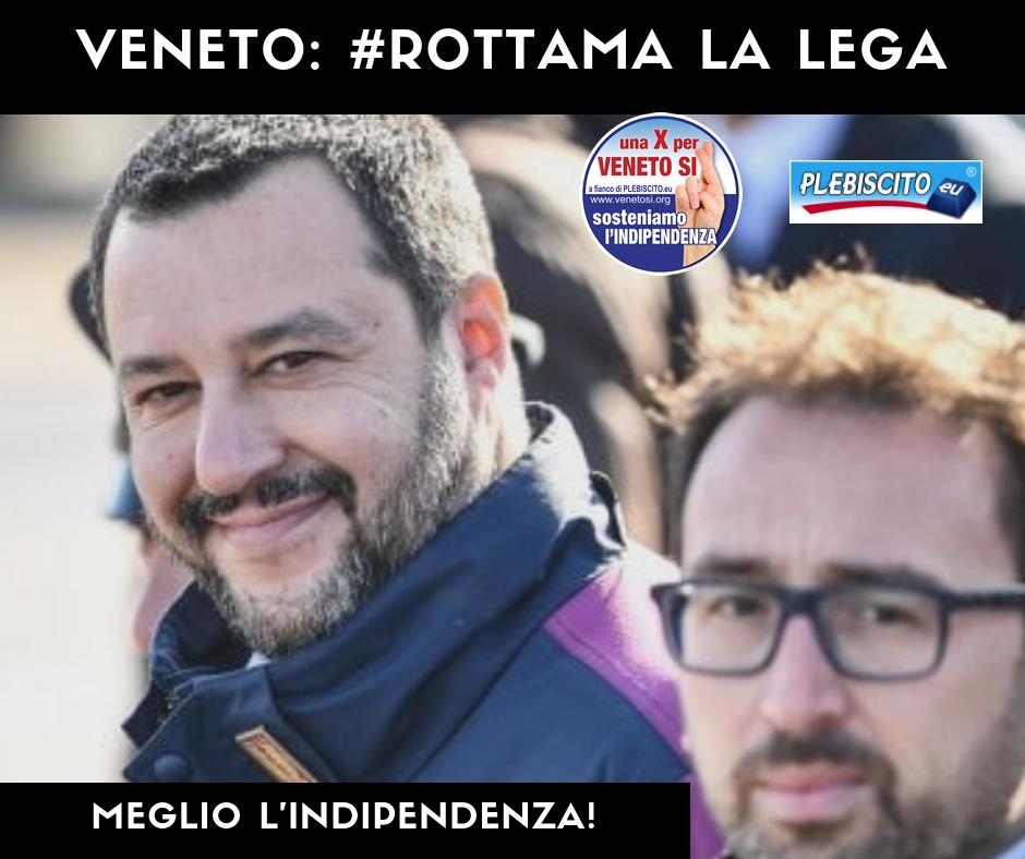 VENETO, ROTTAMA LA LEGA: MEGLIO L'INDIPENDENZA